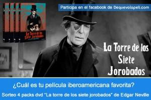 blog Sorteo La torre de los siete jorobados