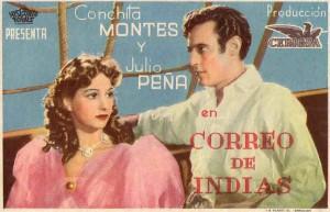 cartelera Correo de Indias